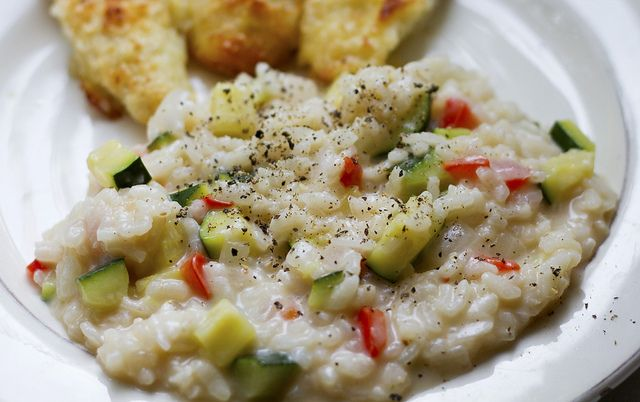 zucchini risotto by mar6love, via Flickr | Breakfast, snack, lunch an ...