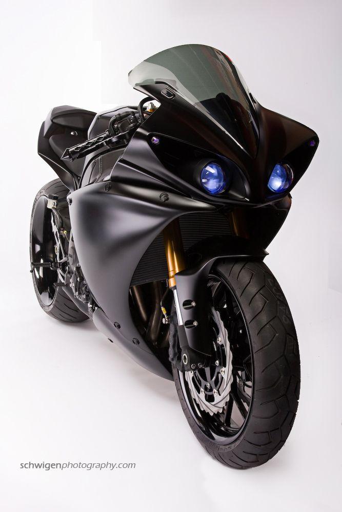 Star Rotors 2009 Yamaha R1 Batman Build