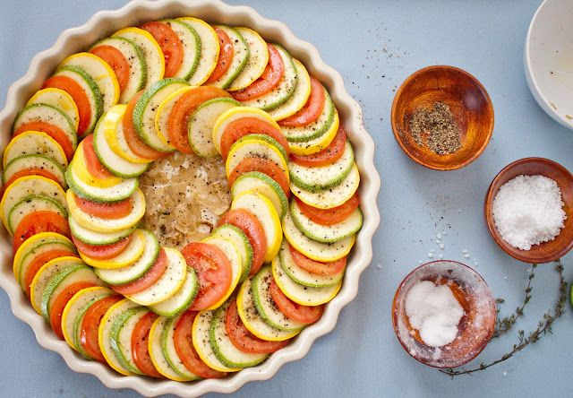 Vegetable Tian by annabellaskitchen: Recipe is in the flash file below the first picture when you click through. #Vegetable #Vegetable_Tian #annabellaskitchen