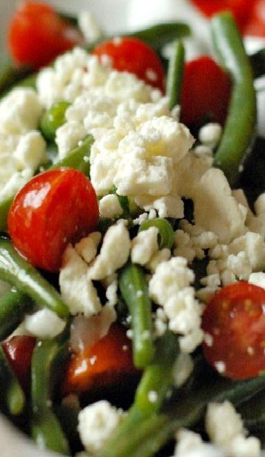 Green Bean And Cherry Tomato Salad Recipe — Dishmaps