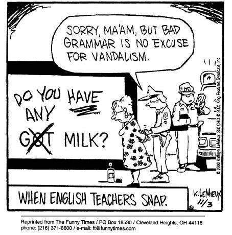 For English Teachers Everywhere!