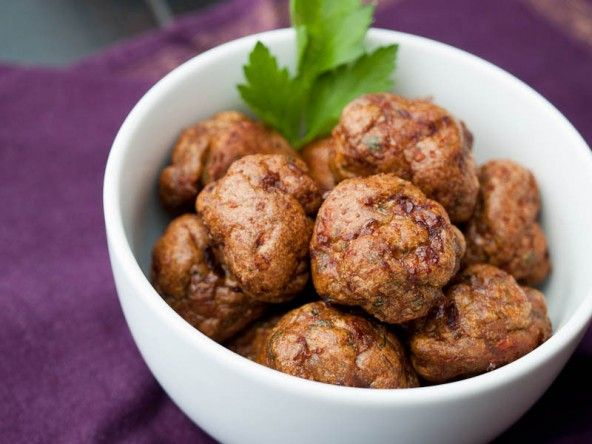 Merguez Meatballs: luscious Moroccan seasonings without the fuss of ...
