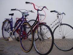 Bicicletas de paseo decoradas