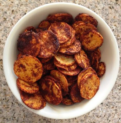 BBQ Sweet Potato Chips | Recipes | Pinterest