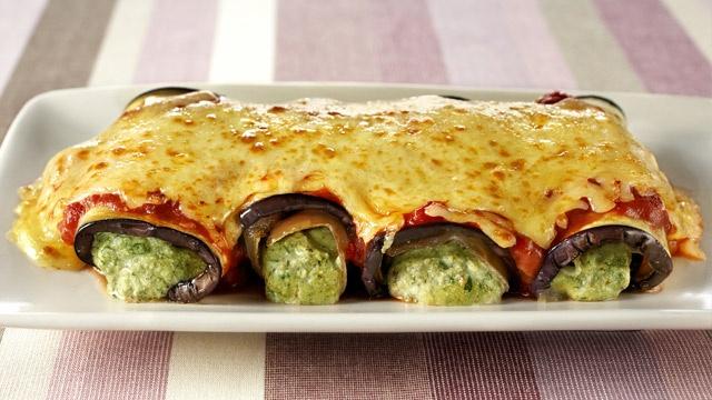 Eggplant Cannelloni | Pasta | Pinterest