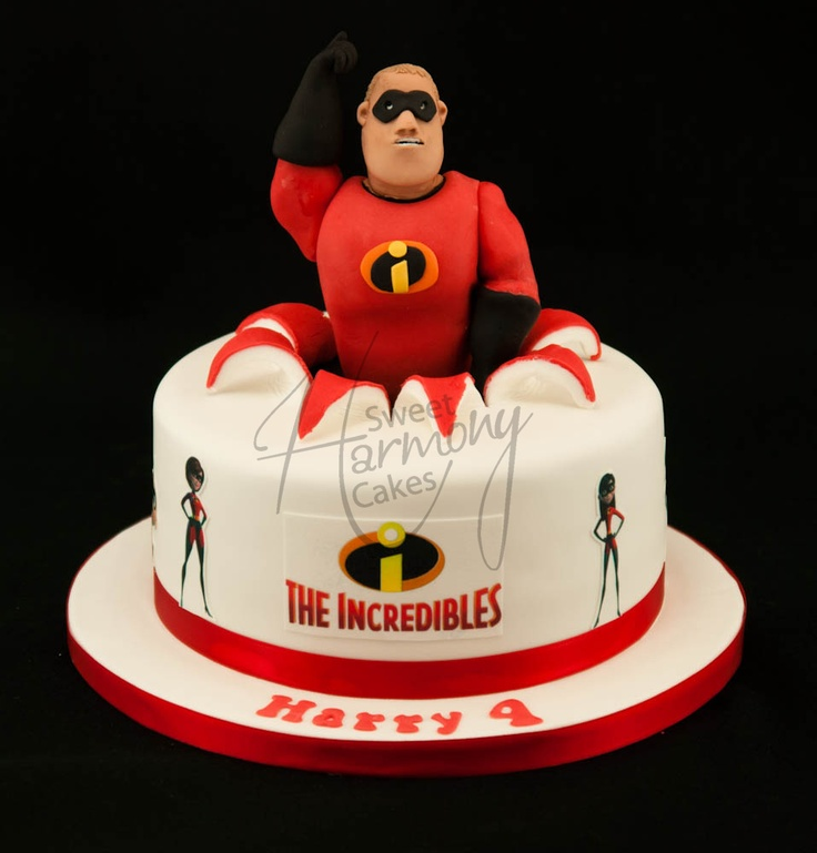 The Incredibles cake