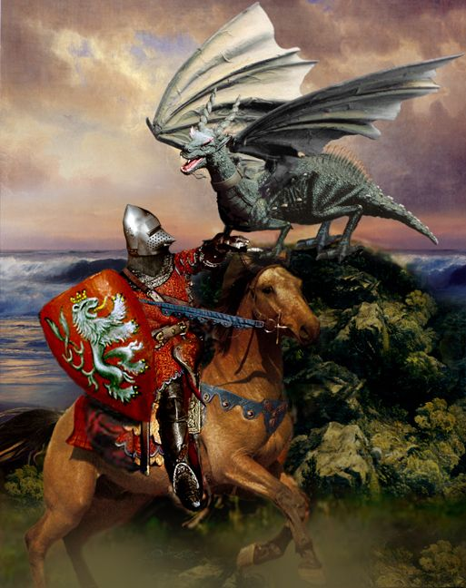 Uther And The Dragon 39 S Breath Arthur HIgh King Of England