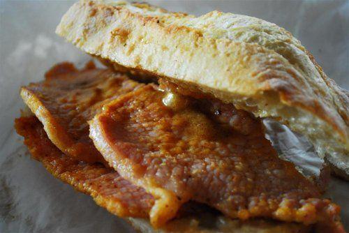 peameal bacon sandwich | Travel Ideas | Pinterest