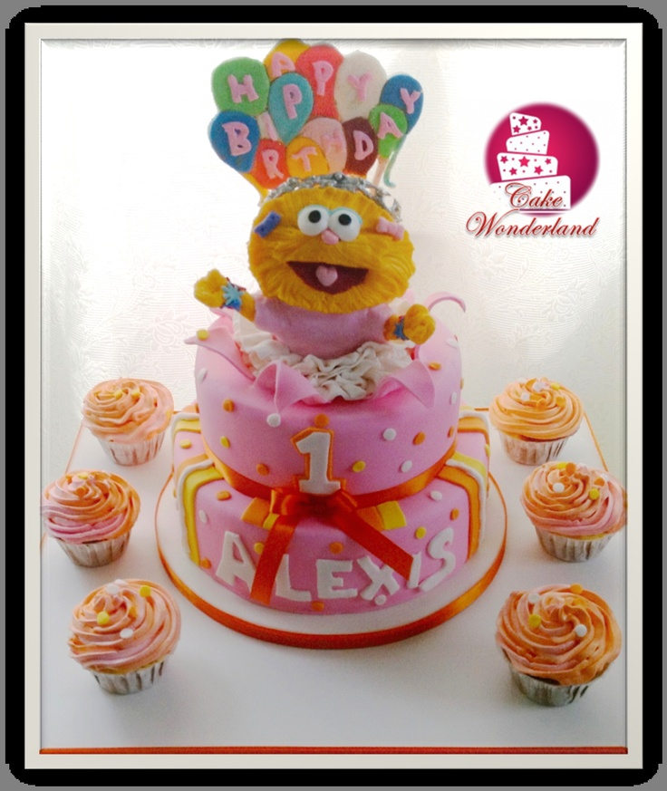zoe sesame street cake....this is cute something like this except with ...
