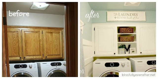 Small Laundry Room Makeover On A Budget Beachhouse Pinterest