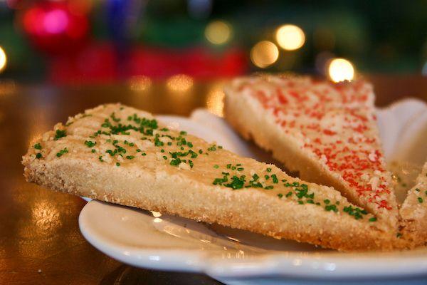 Scottish Shortbread Wedges, I love shortbread!