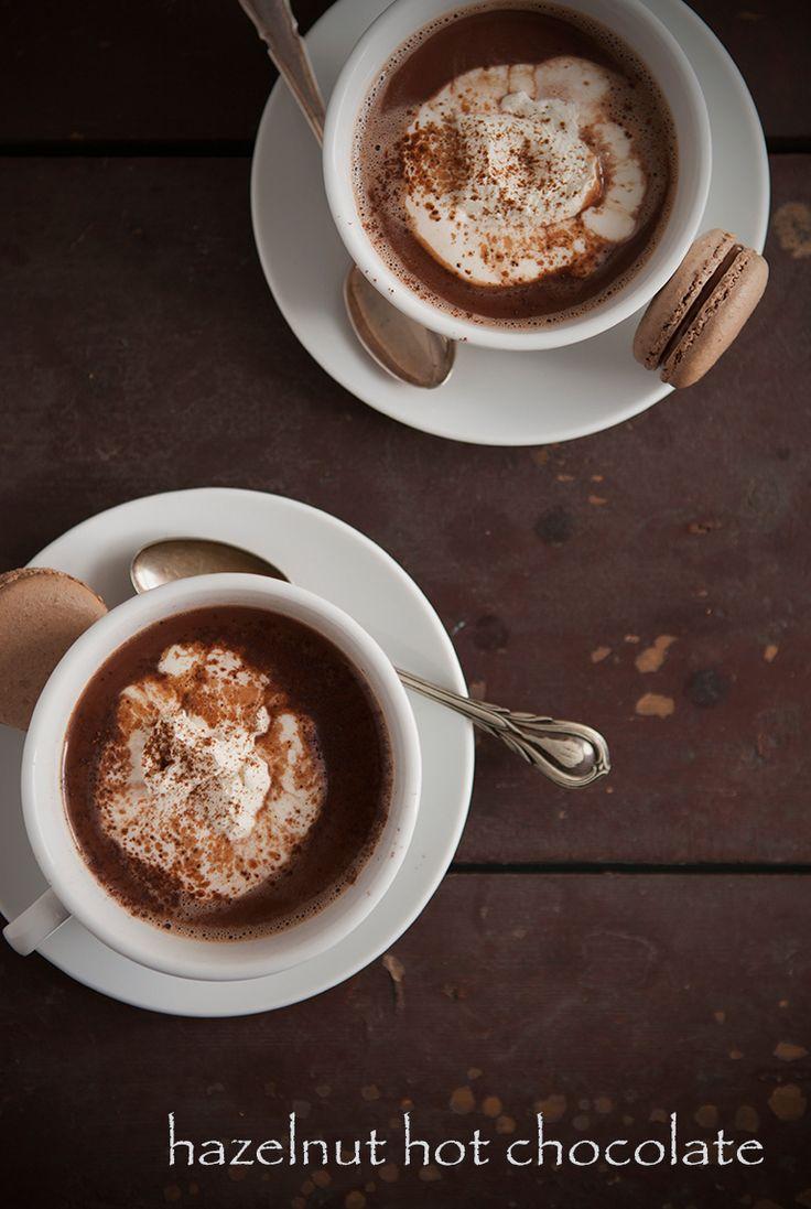 hazelnut hot chocolate | Let's Make HOT CHOCOLATE! | Pinterest