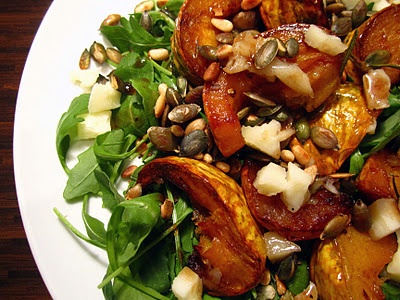 roast squash and apple salad | Eat | Pinterest