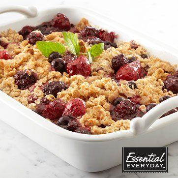 Berry Medley Crisp | Recipes | Pinterest