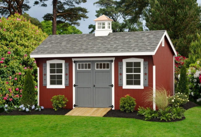 Shed with cupola decor for the home pinterest for Houses with cupolas