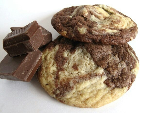 Marble cookies | Sweets | Pinterest