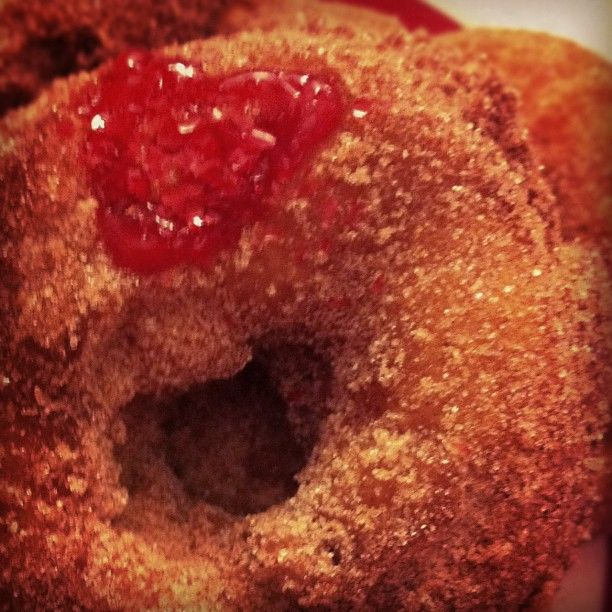 Donuts for my sweet on Valentine's. | I made it. Worth making again ...