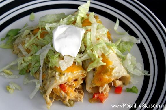 Enchiladas Verdes | FOOD - ENCHILADAS, LASAGNA | Pinterest