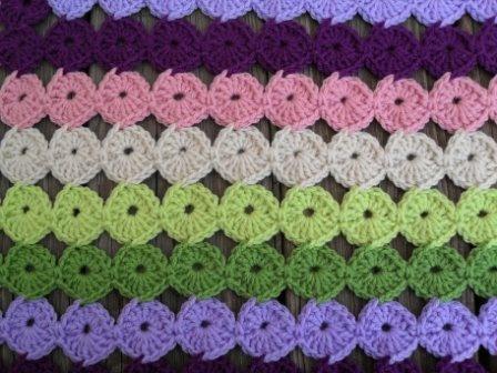 Crochet Yoyo Patterns : Yo yo afghan Crochet Pinterest