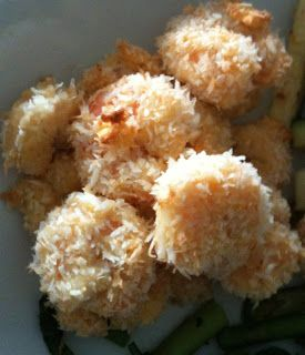 Recipe Queen: Paleo Coconut Breaded Shrimp: uses egg to coat shrimp ...