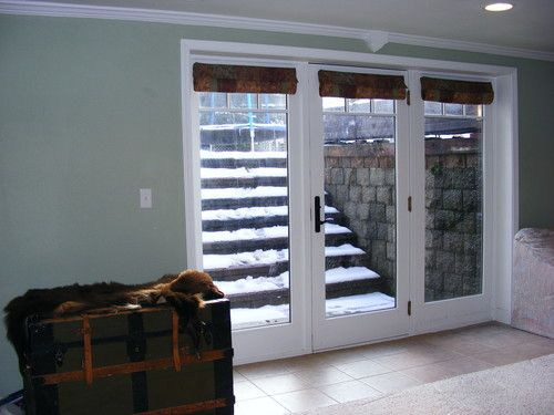 Walkout basement cape house pinterest for Walkout basement windows