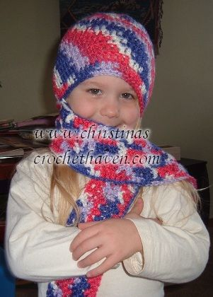 Free Knitting Pattern Scarf Hat Attached : Scarf Attached Hat Hats - Free Crochet Patterns Pinterest