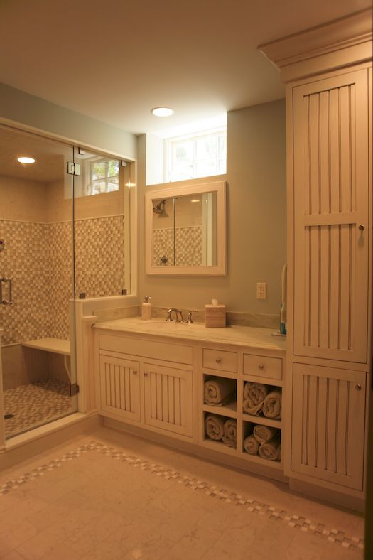 basement bathroom Basement Redo Pinterest