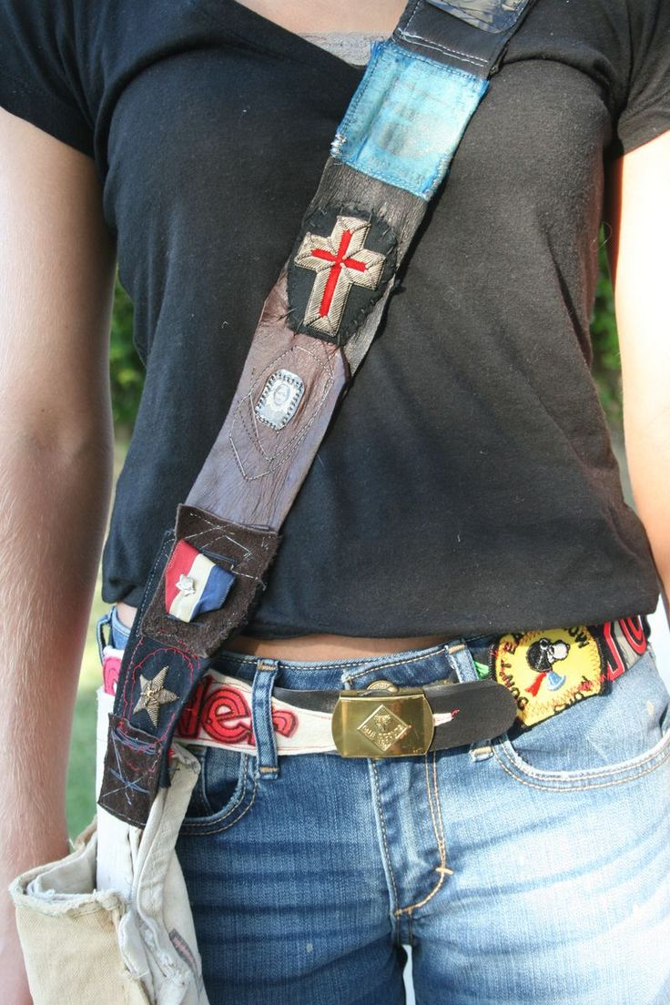 amy hanna's belts and bag straps