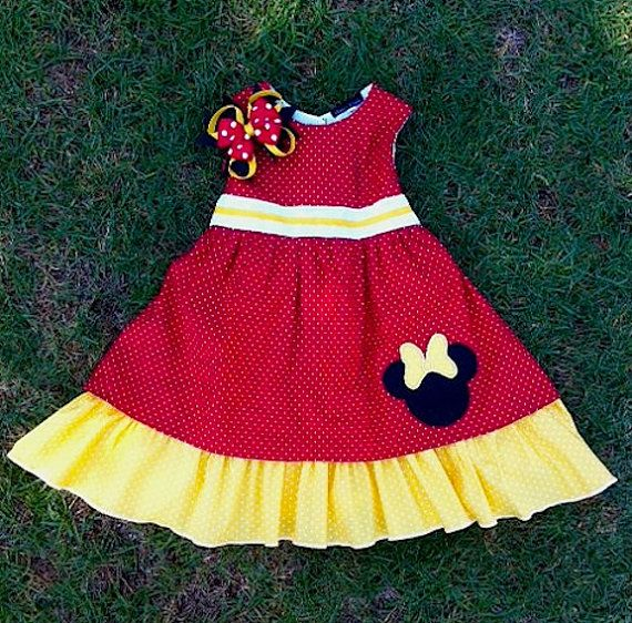 Minnie mouse party dress by cnl4etsy on etsy 60 00