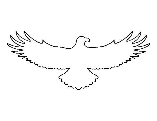eagle stencil template