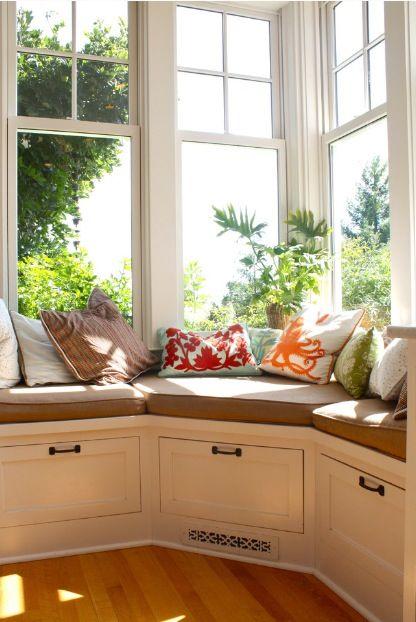 Beautiful Window Seat House Pinterest