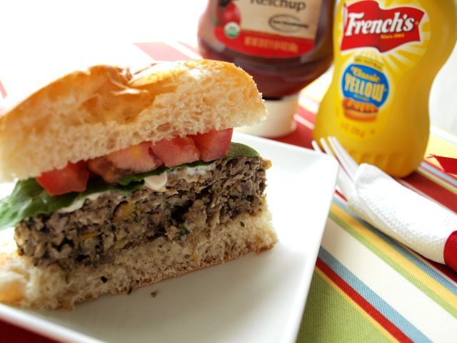 Lentil burgers...made a version of these minus black beans and ...