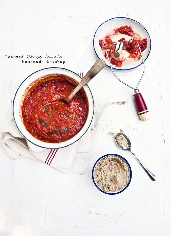 ... Beef Burger, Brownies and more…ROASTED TOMATO KETCHUP (plus how to