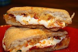 Sun-dried Tomato Pesto And Mozzarella Paninis | Recipe