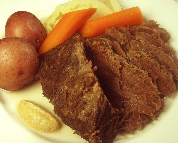 Home-cured Corned Beef and Cabbage | Food! | Pinterest