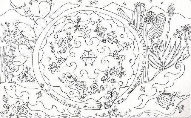 Mandala Coloring Page Flickr Sharing | Coloring Pages | Pinterest: pinterest.com/pin/207236020328023508