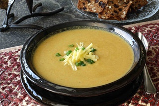 Creamy (but healthy) Carrot-Jalapeno Soup Recipe LS