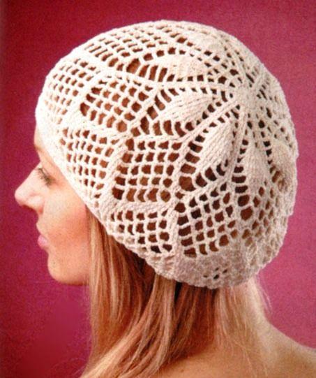 Crochet hat with diagram Crochet Pinterest