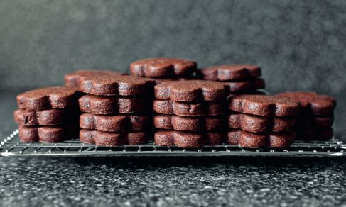 Chocolate Brownie Roll-Out Cookies | Recipe