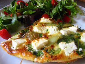 Spinach & Feta Frittata | Vegetarian Meals | Pinterest