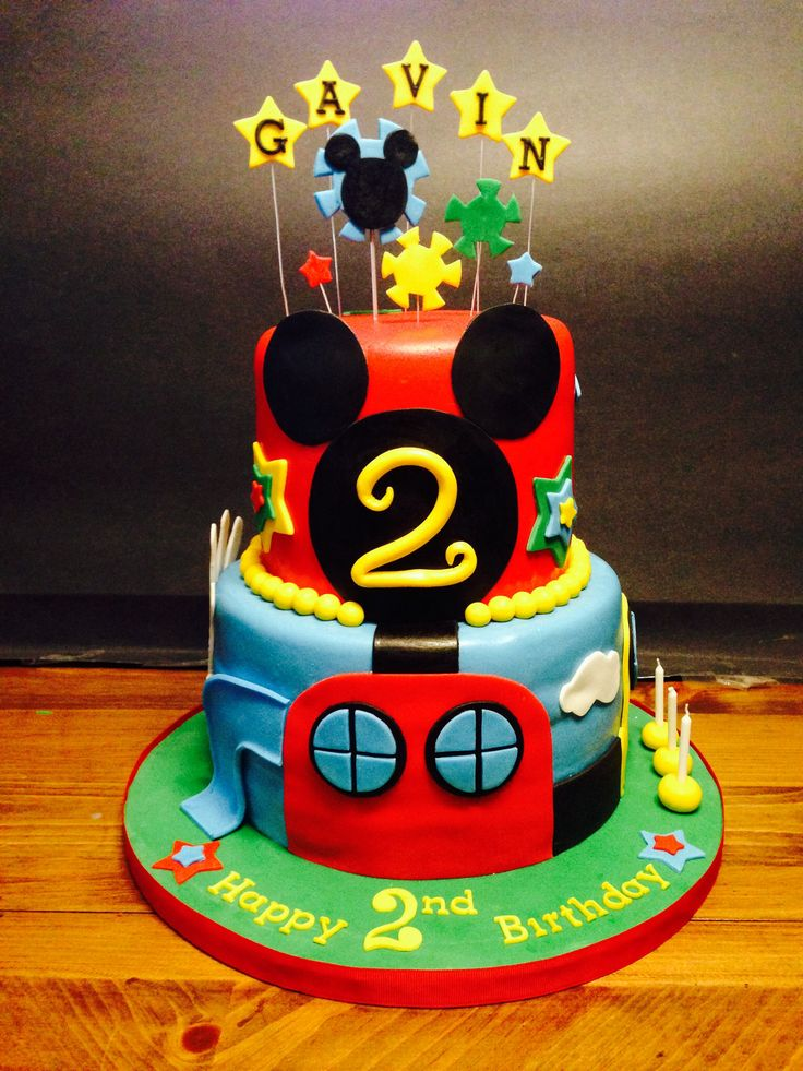 Mickey Mouse Clubhouse Cake Images : Mickey Mouse Clubhouse cake My Cakes- Cakes by Kris ...
