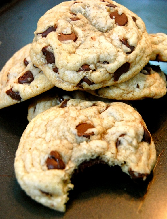 Easy Chocolate Chip Cookies | Cookies | Pinterest