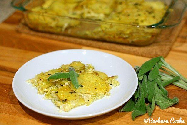 Potato Leek Gratin | Sides | Pinterest