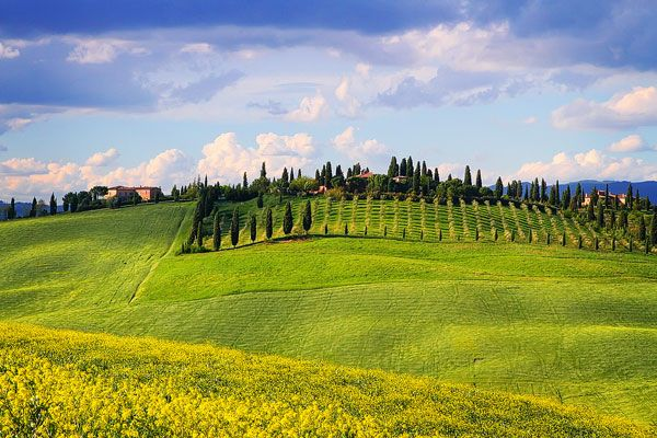 travel guide travelling tuscany driving italy