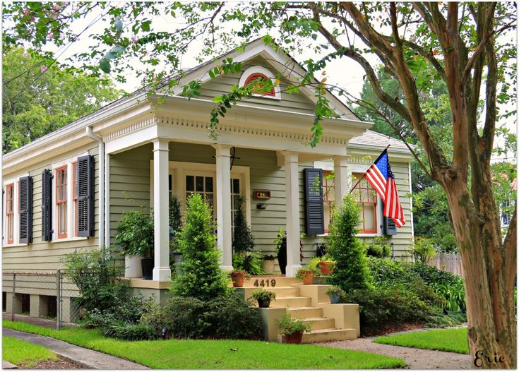 Mid City In New Orleans Homes Cozy Cottages Pinterest