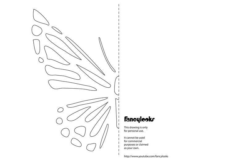Butterfly Template for T-shirt Cut-out http://pinterest.com/deborah2055/many-t-shirt-craftsi-love/