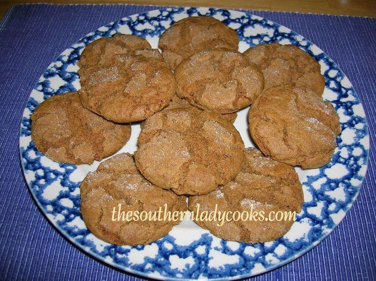 GINGERSNAP COOKIES | cookies, bars, cupcakes & cakepops | Pinterest