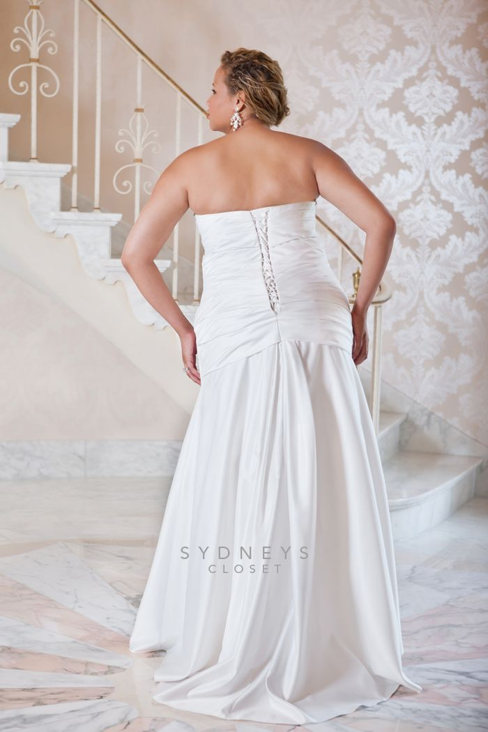 Wedding Dresses  Sydney : Plus size wedding dress sydney s closet style sc via pretty
