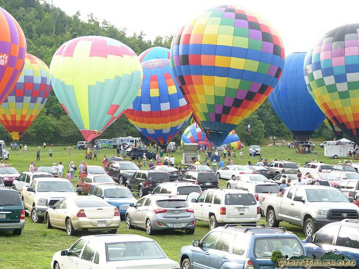 helen ga 41st annual hot air balloon race to the atlantic