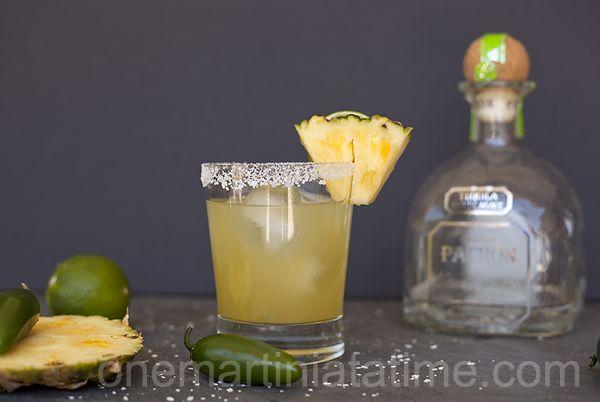 Prickly Pineapple Margarita - Korean Hot Sauce Silver tequila ...